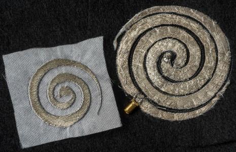 smart fabric spiral
