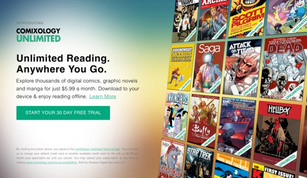 "Amazon Launches ""Netflix for Comics"""