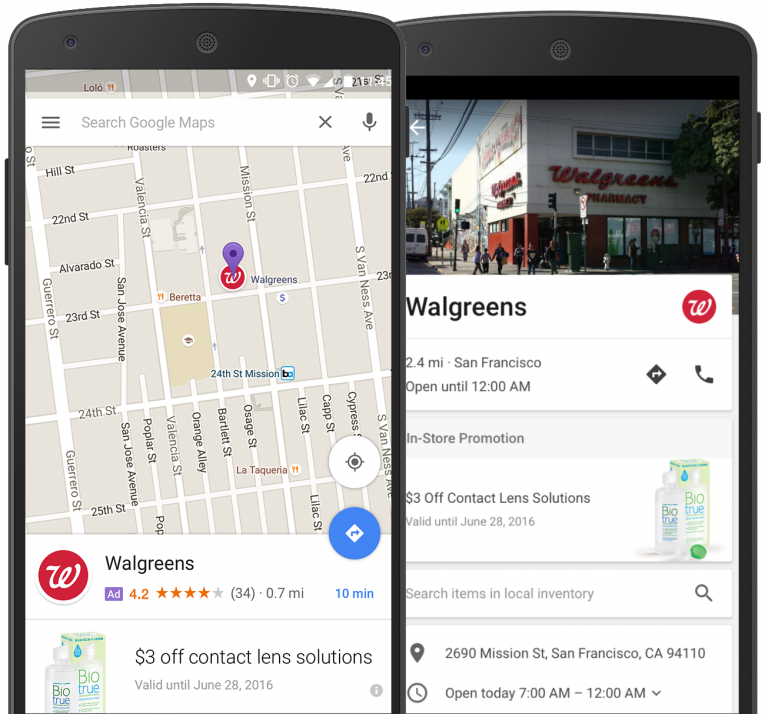 Google Brings Ads to Maps in Mobile-first Redesign of AdWords