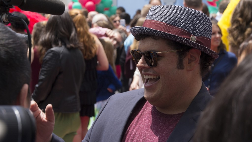 Josh Gad, one of the stars of The Angry Birds Movie, at the LA premiere