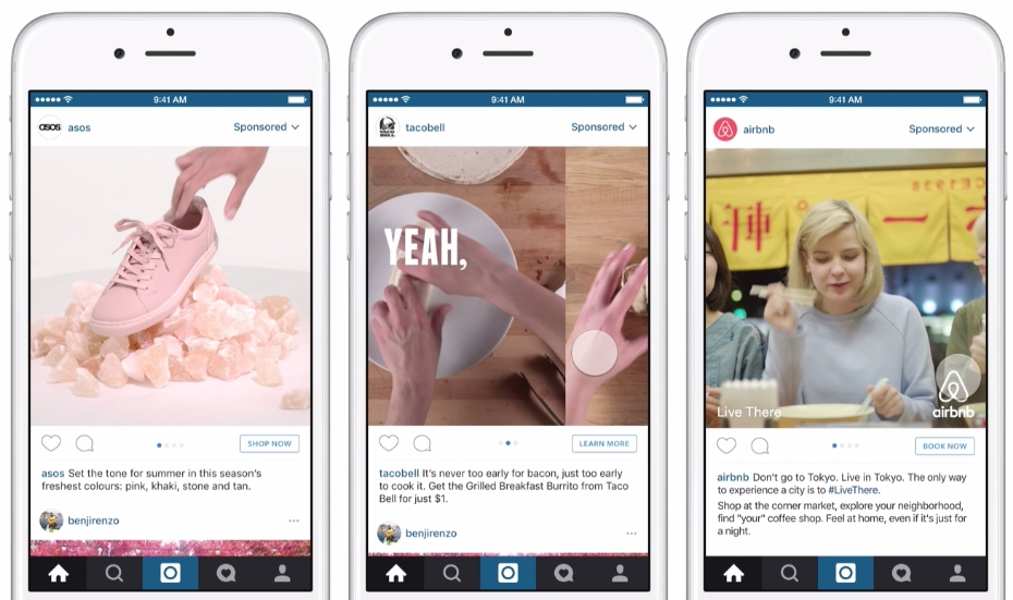 Instagram Launches Video Carousel Ads