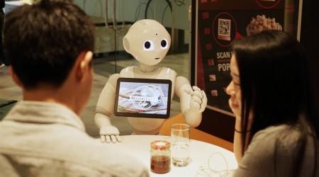 Mastercard Pizza Hut Pepper Robot