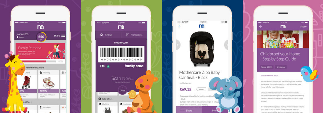 Mothercare Launches Family Card Loyalty App
