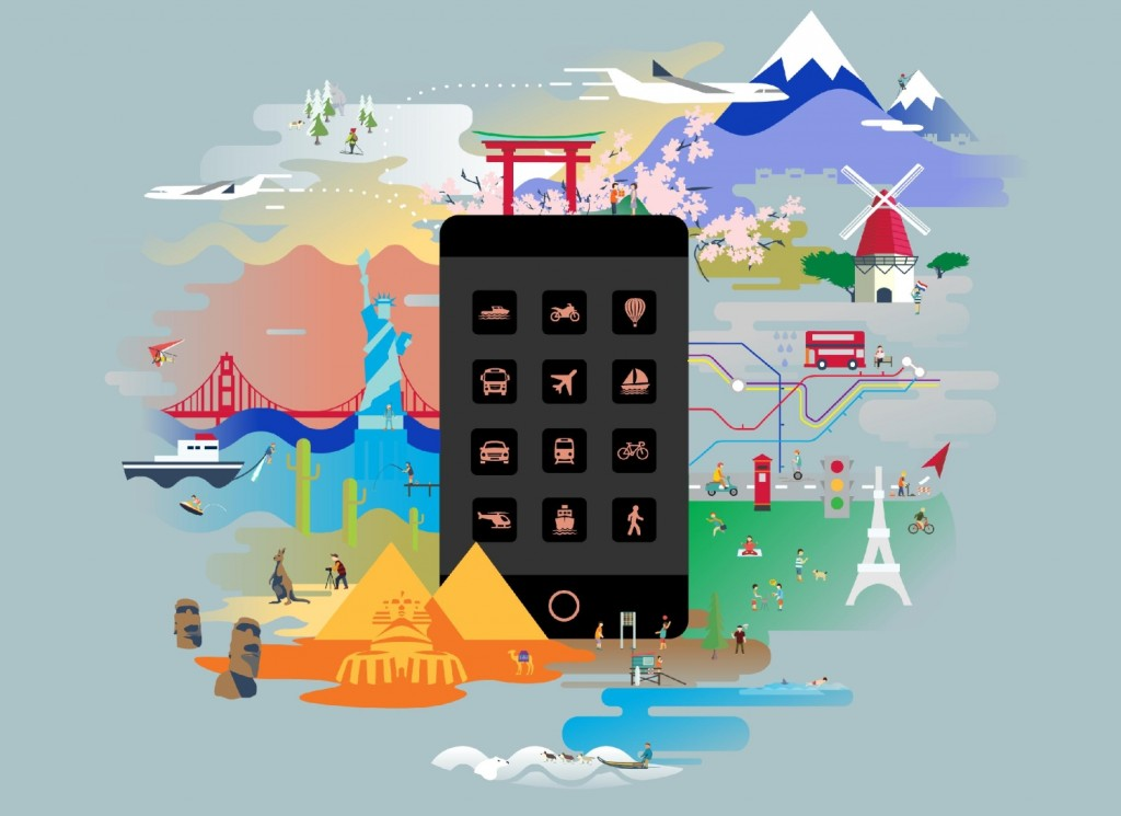 Travel App Downloads Take Off in November (Infographic)