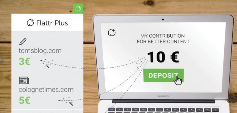 Pirate Bay and Adblock Partner for Flattr Plus