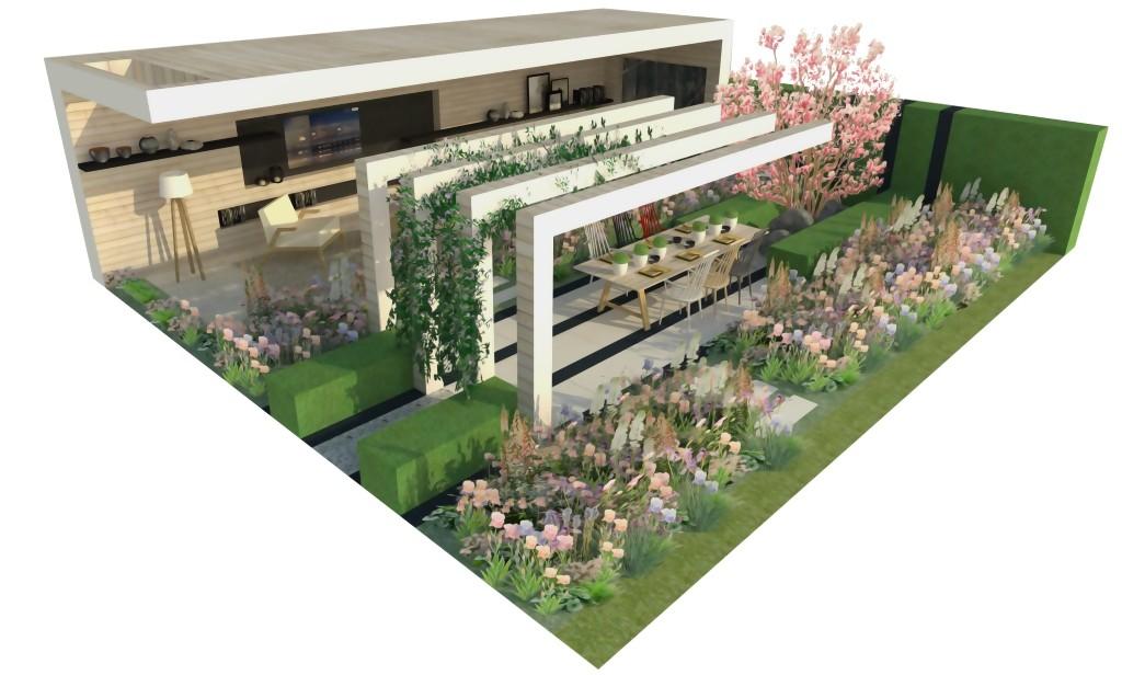 lg smart garden takes root at chelsea flower show mobile marketing. Black Bedroom Furniture Sets. Home Design Ideas