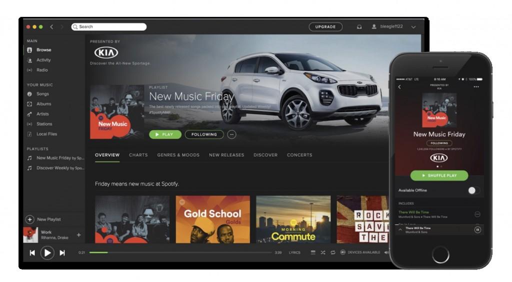 spotify sponsored playlist