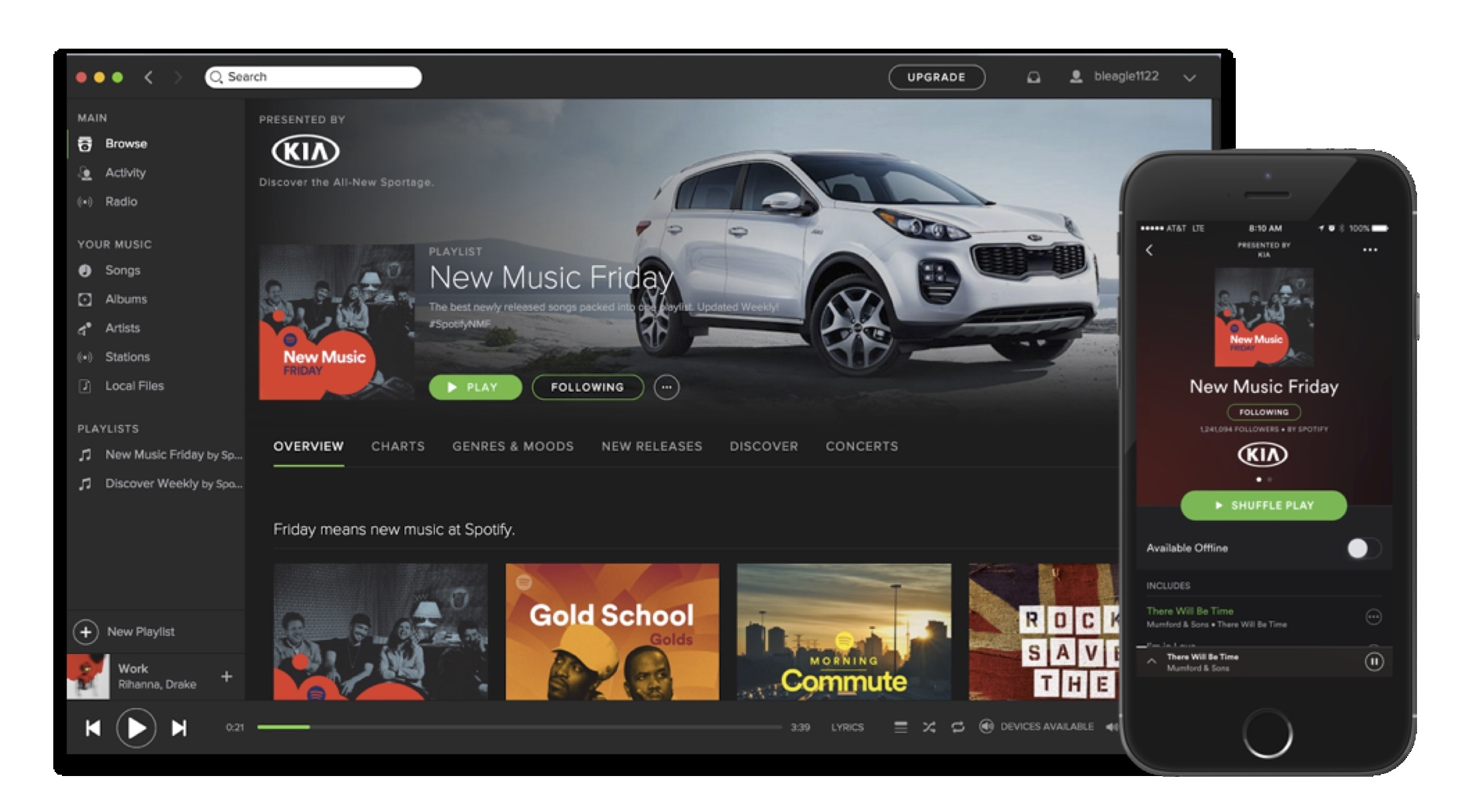 Spotify Introduces Sponsored Playlists