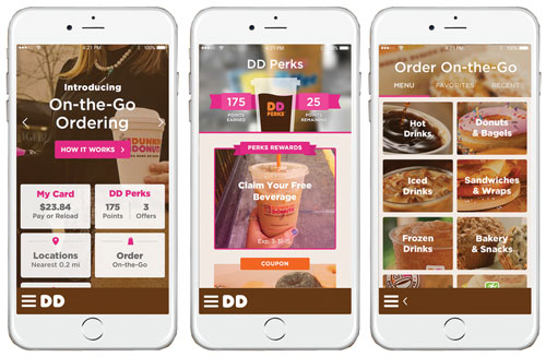 Dunkin' Donuts Goes Nationwide with Mobile Ordering