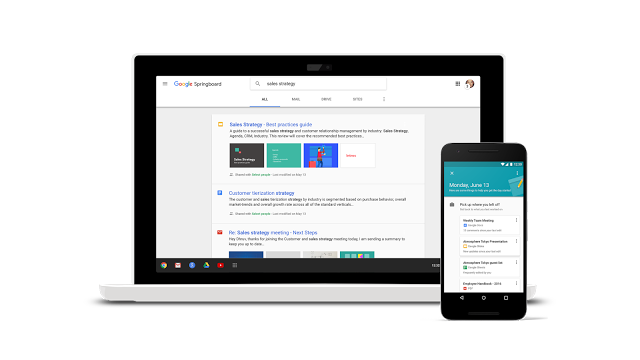 Google Launches Springboard Enterprise AI Assistant