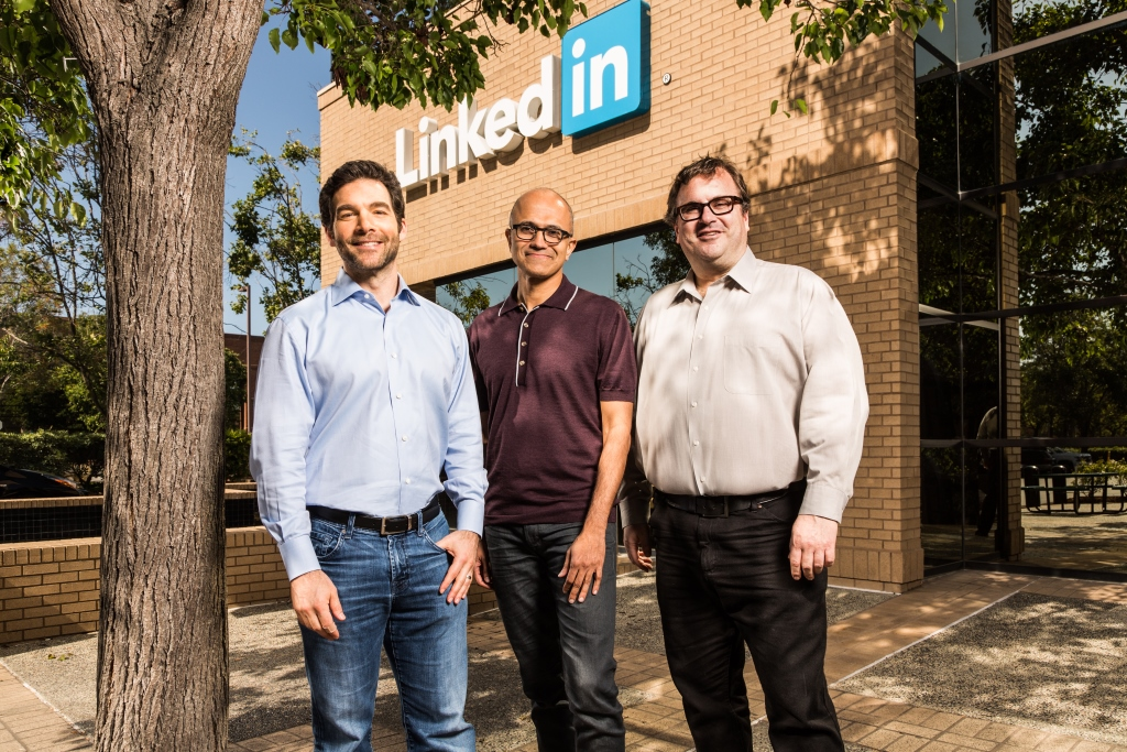 Microsoft Buys LinkedIn for $26.2bn
