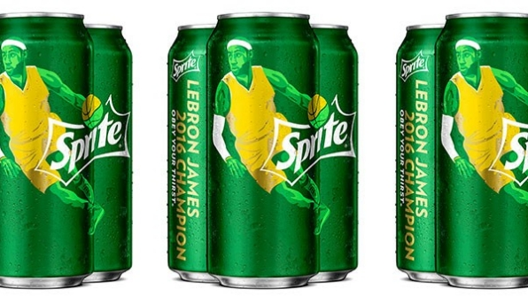 Sprite Celebrates Cavaliers Win with Social Video Campaign
