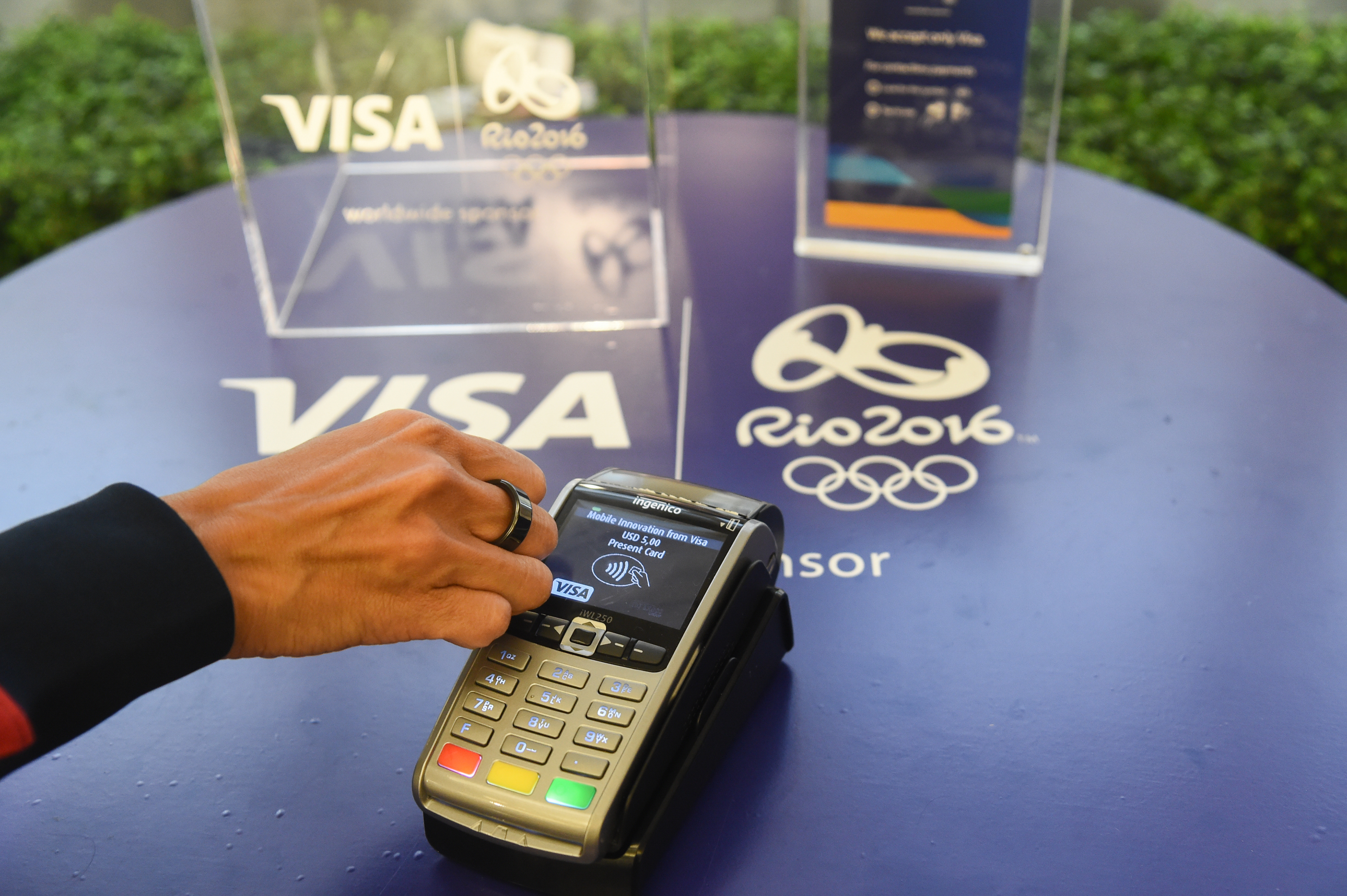 Visa's Olympic Rings Let Athletes Make Payments