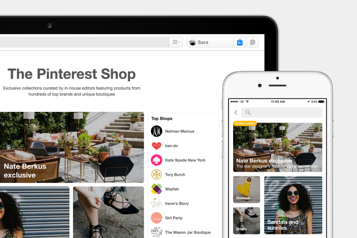 Pinterest Bolsters Shopping and Visual Search Tools