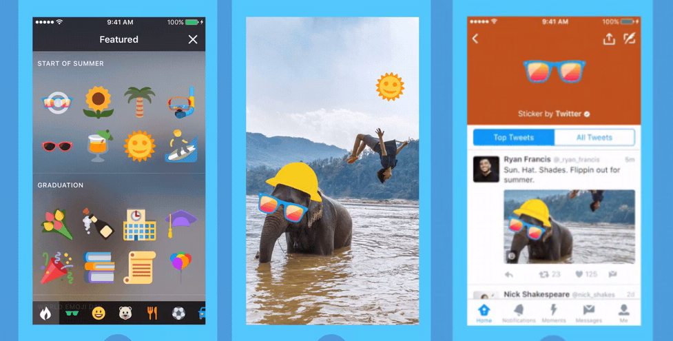 Twitter Reveals Stickers in Another Attempt to Pull in Users