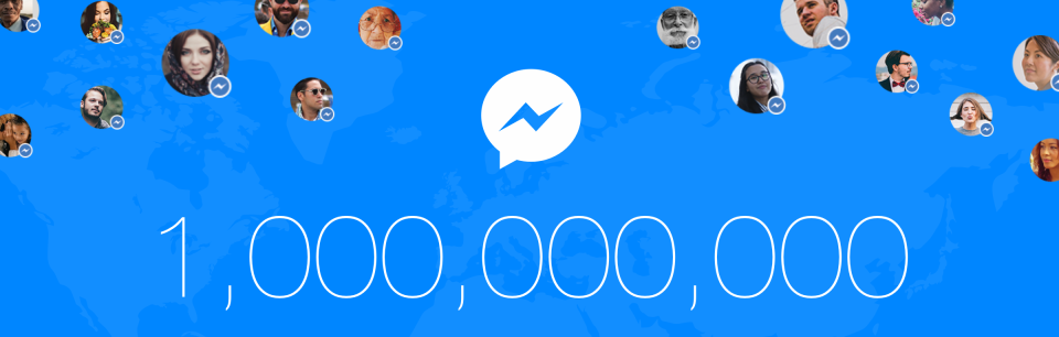 Facebook Messenger Hits 1bn MAUs