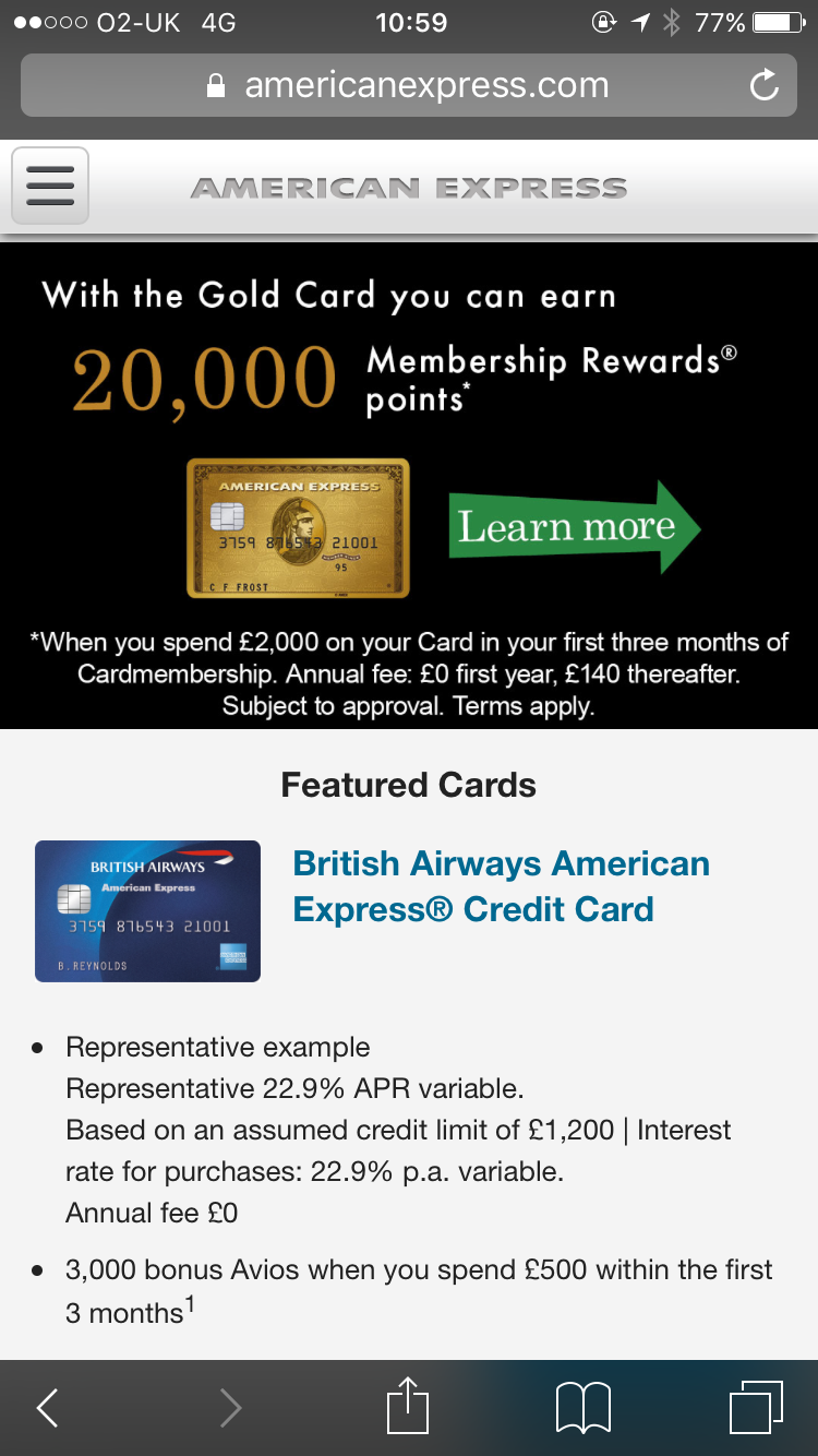 Amex Tops Financial Services Mobile Experience Charts