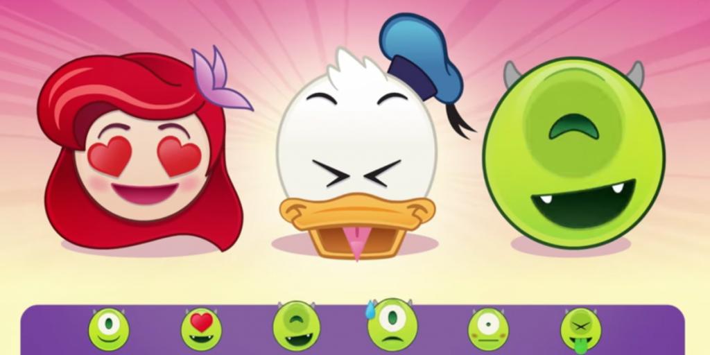 Disney Unveils Emoji Keyboard with a Twist