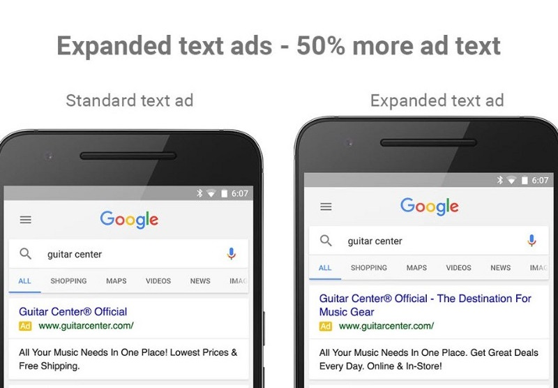 Kenshoo Adds Support for Google Expanded Text Ads