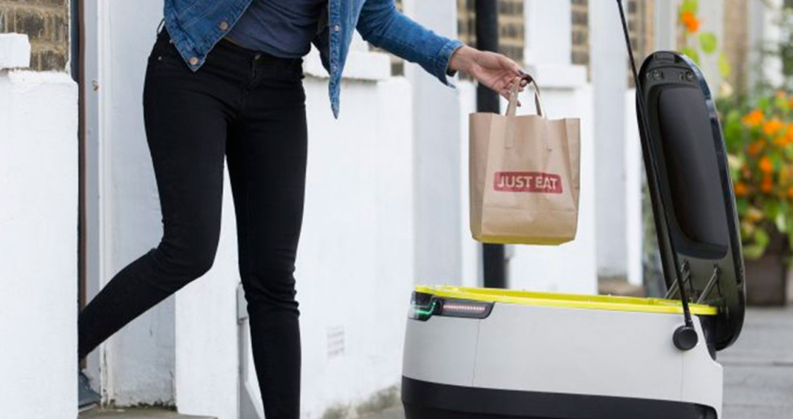 Just Eat Delivers Robots to British Streets
