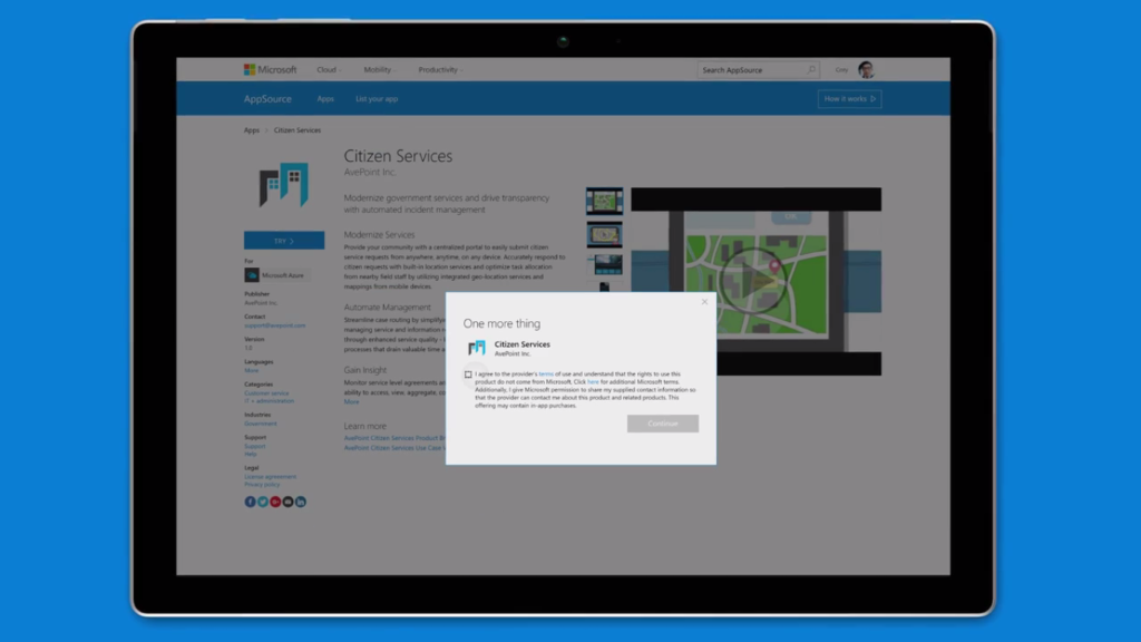 Microsoft Unveils Mobile Enterprise Solutions and App Catalogue