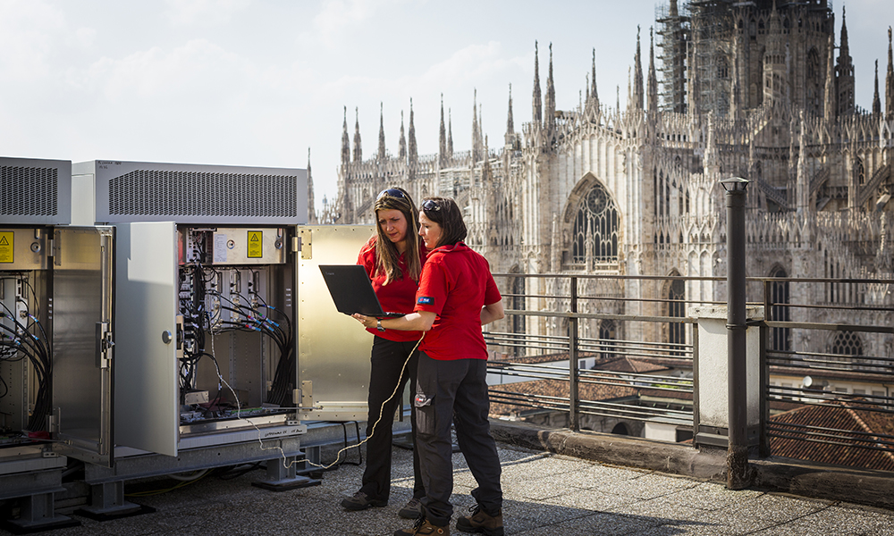 Italian Telecom Launches Huawei-powered 'Intelligent' 4G