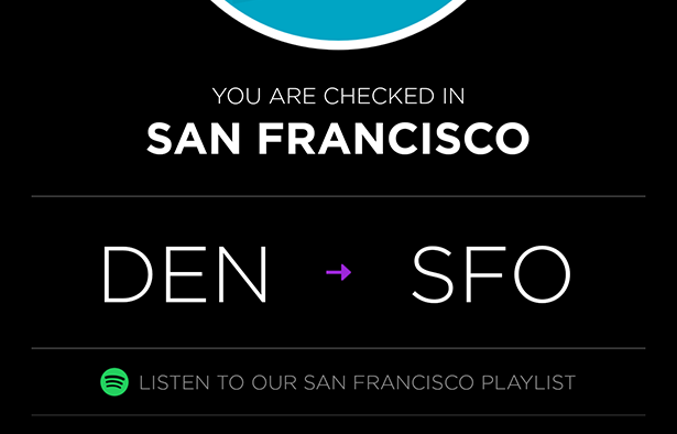 Virgin America Teams with Spotify for Destination Playlists