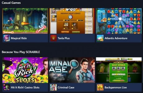 Facebook Games Arcade, the social network's existing in-browser gaming portal