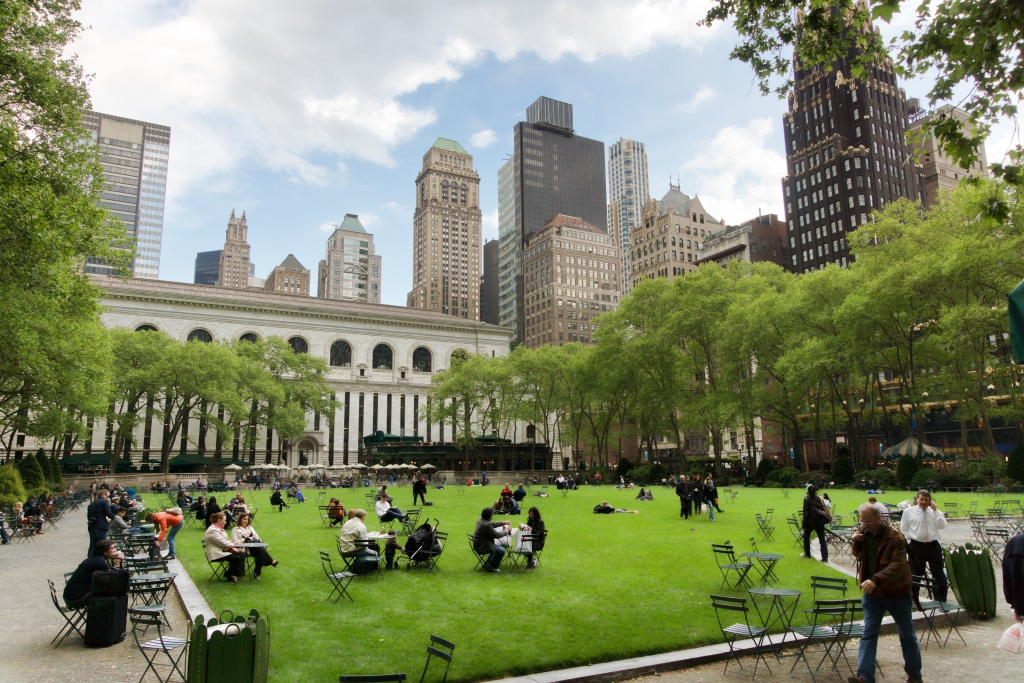 NYC's Bryant Park Uses Mobile Location Data to Drive Footfall