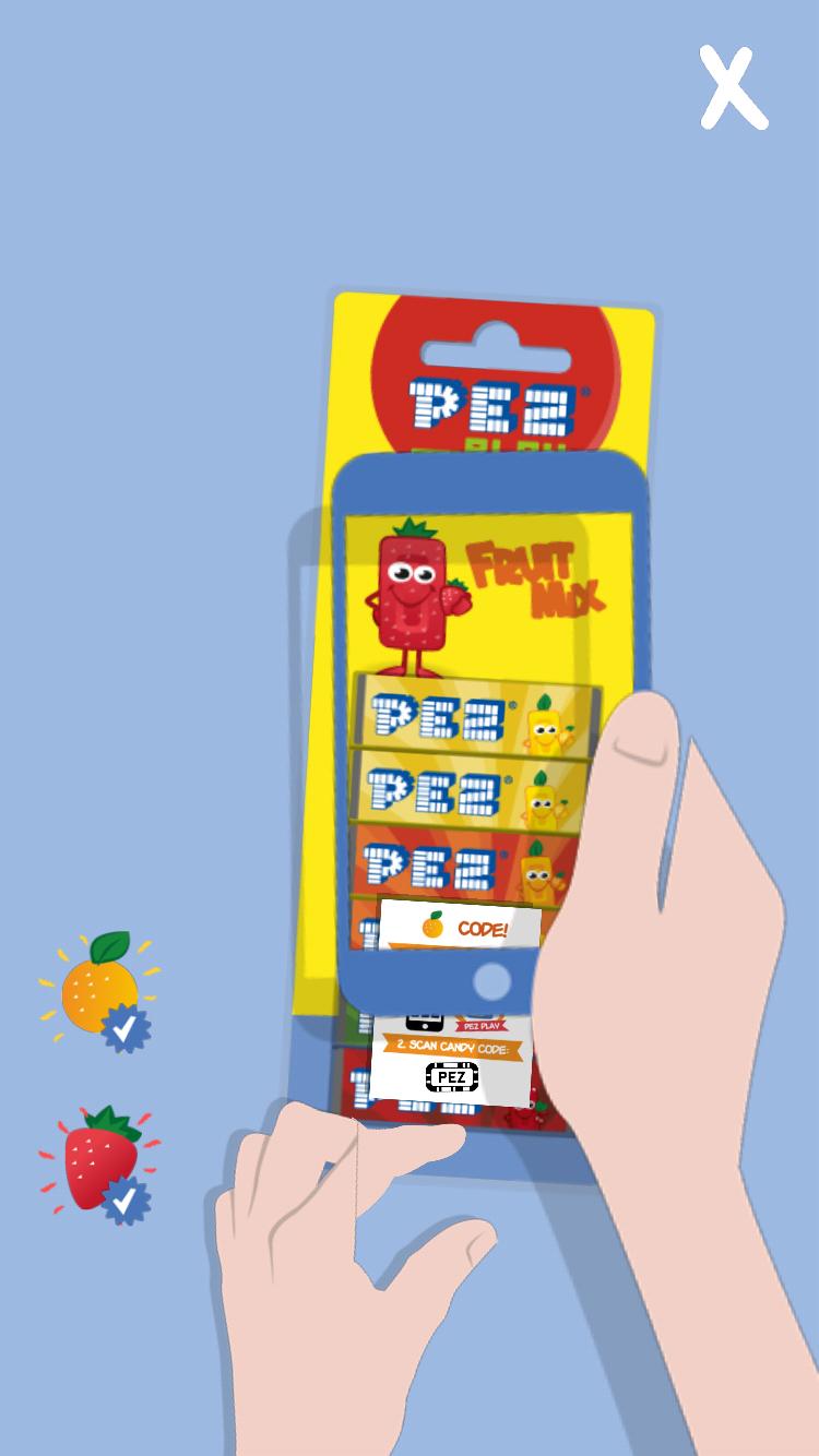 Pez Teams With Zappar to Bring AR to its App