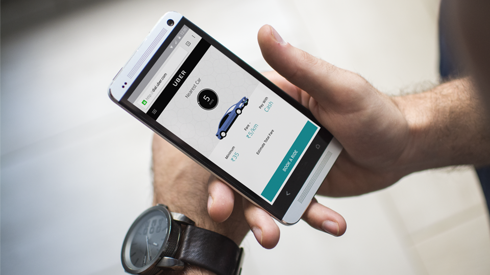 Uber Moves from App to Mobile Site in India