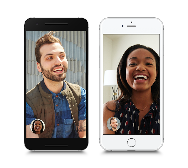 Google Unveils Duo and Takes Aim at FaceTime