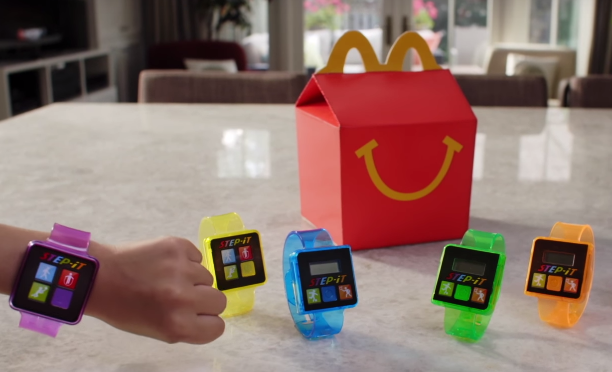 McDonald's Pulls Happy Meal Activity Trackers Over Health Fears