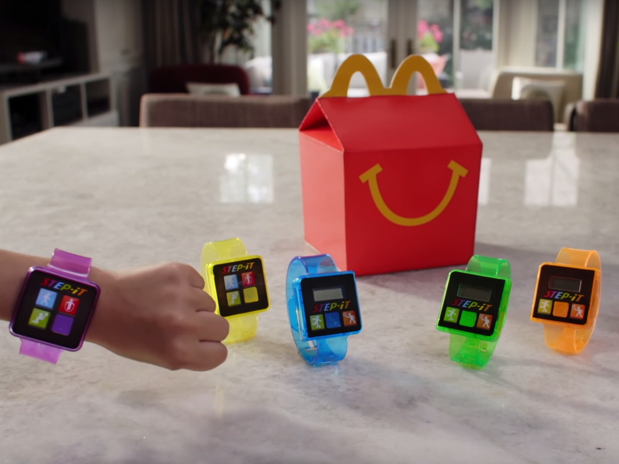 McDonald's Makes Fitness Trackers the Latest Happy Meal Toy