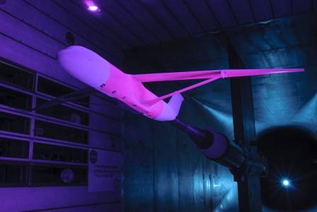 nasa pink plane