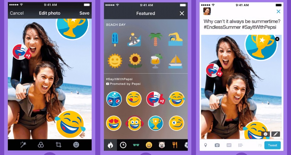 Twitter Expands Stickers into New Ad Format