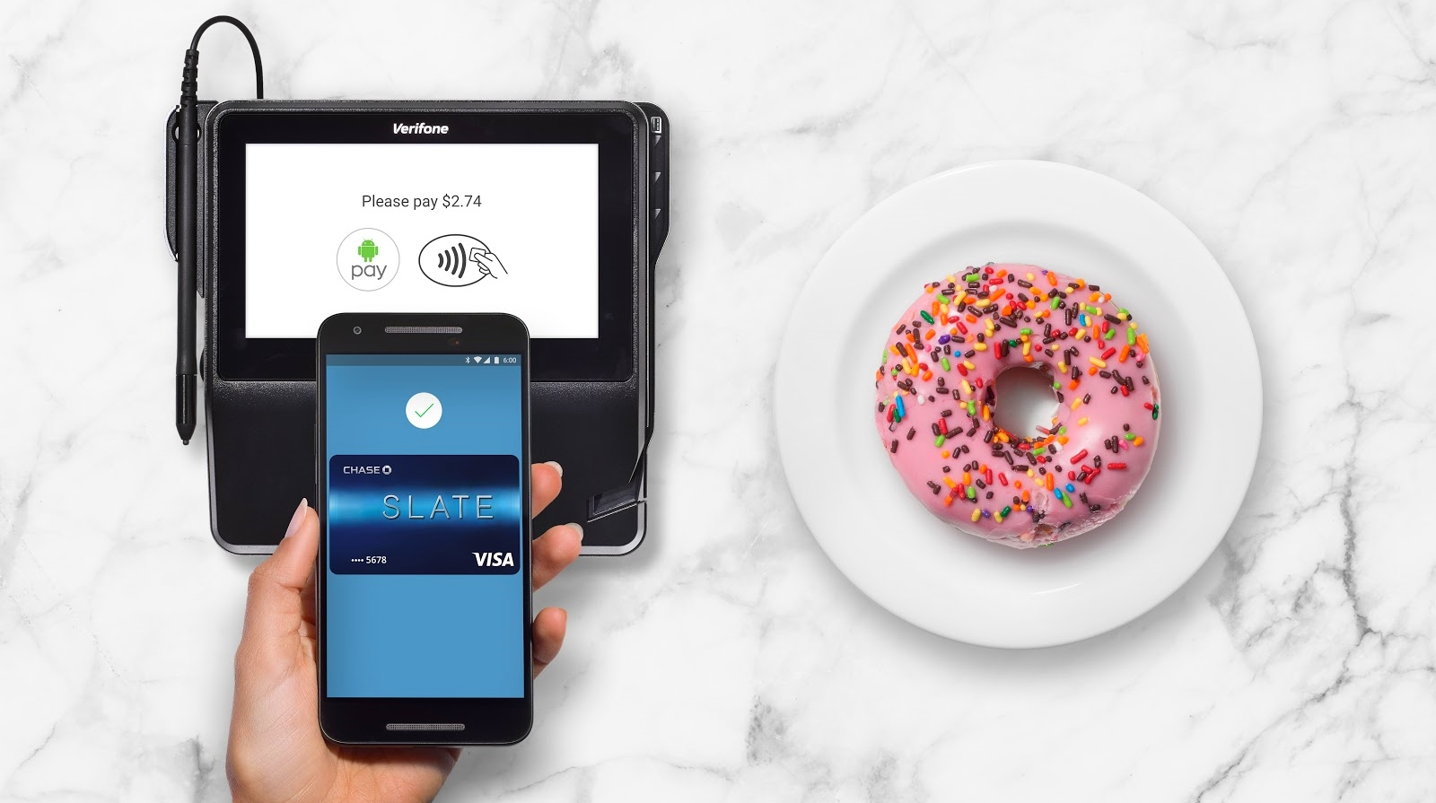 Android Pay Finally Signs Up Chase