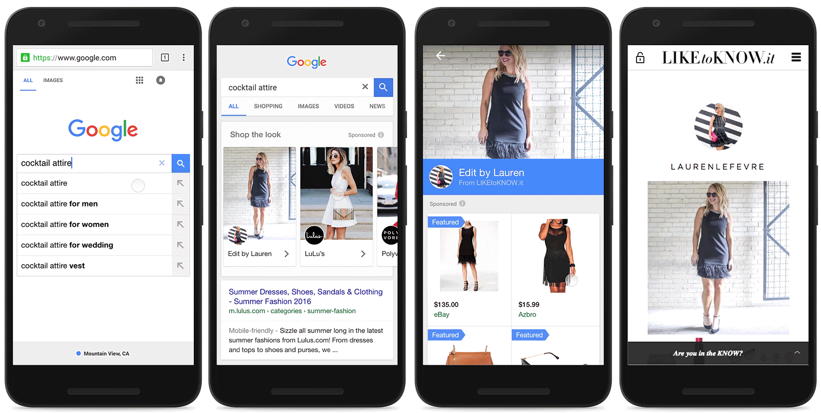 Google Launches 'Shop The Look' Fashion Ads