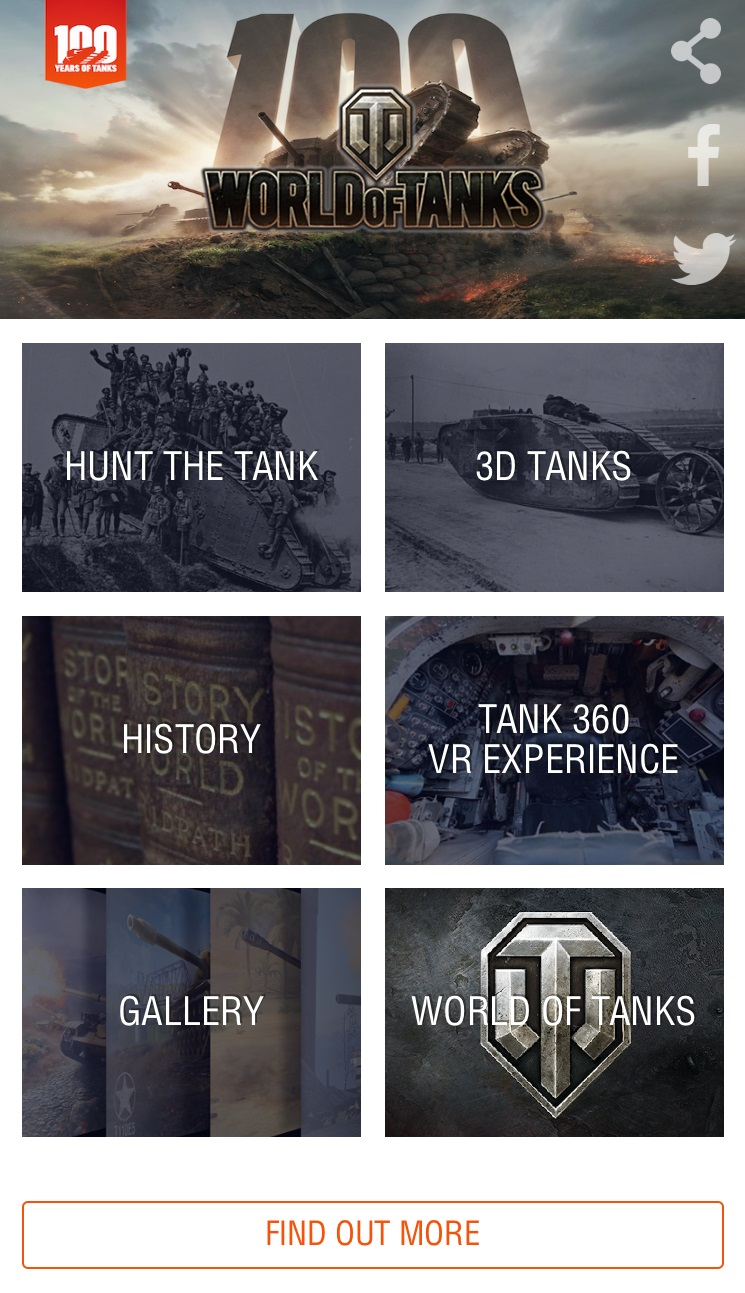 Wargaming Launches AR/VR Tank App