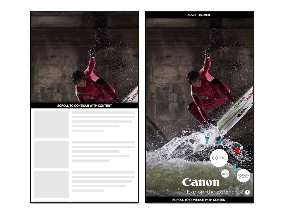 Canon Launches Mobile-first Vertical Video Campaign