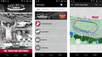 darlington raceway app