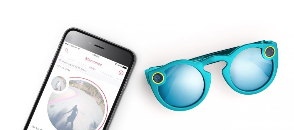 snapchat spectacles and app