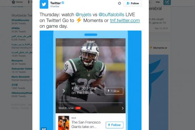 Twitter Launches Video App for Apple TV, Xbox One and More
