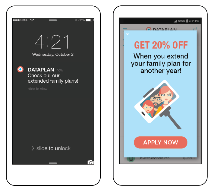 Insert Offers In-App Landing Pages for Boosted Conversion