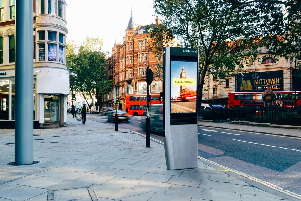 BT 'Evolves' London Phone Boxes into Ad-supported Wi-fi Kiosks
