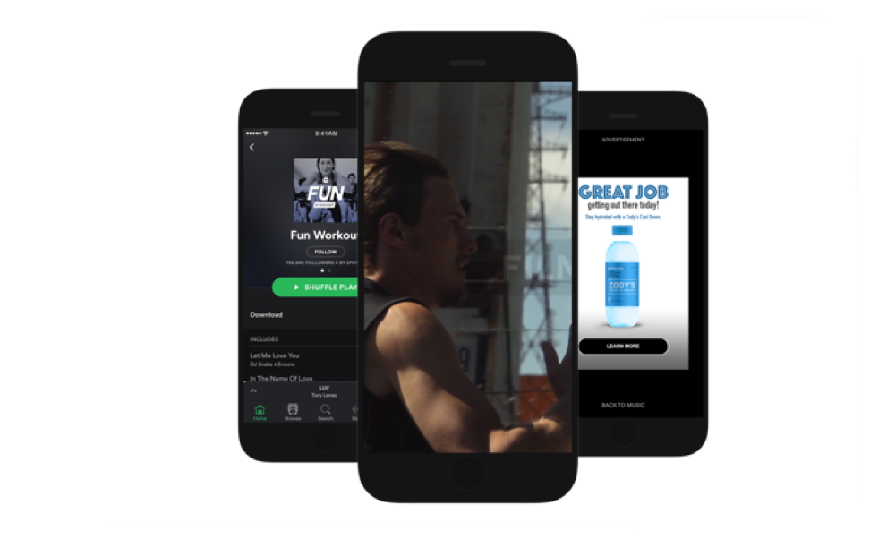 Spotify Embraces Vertical Video with Branded Moments