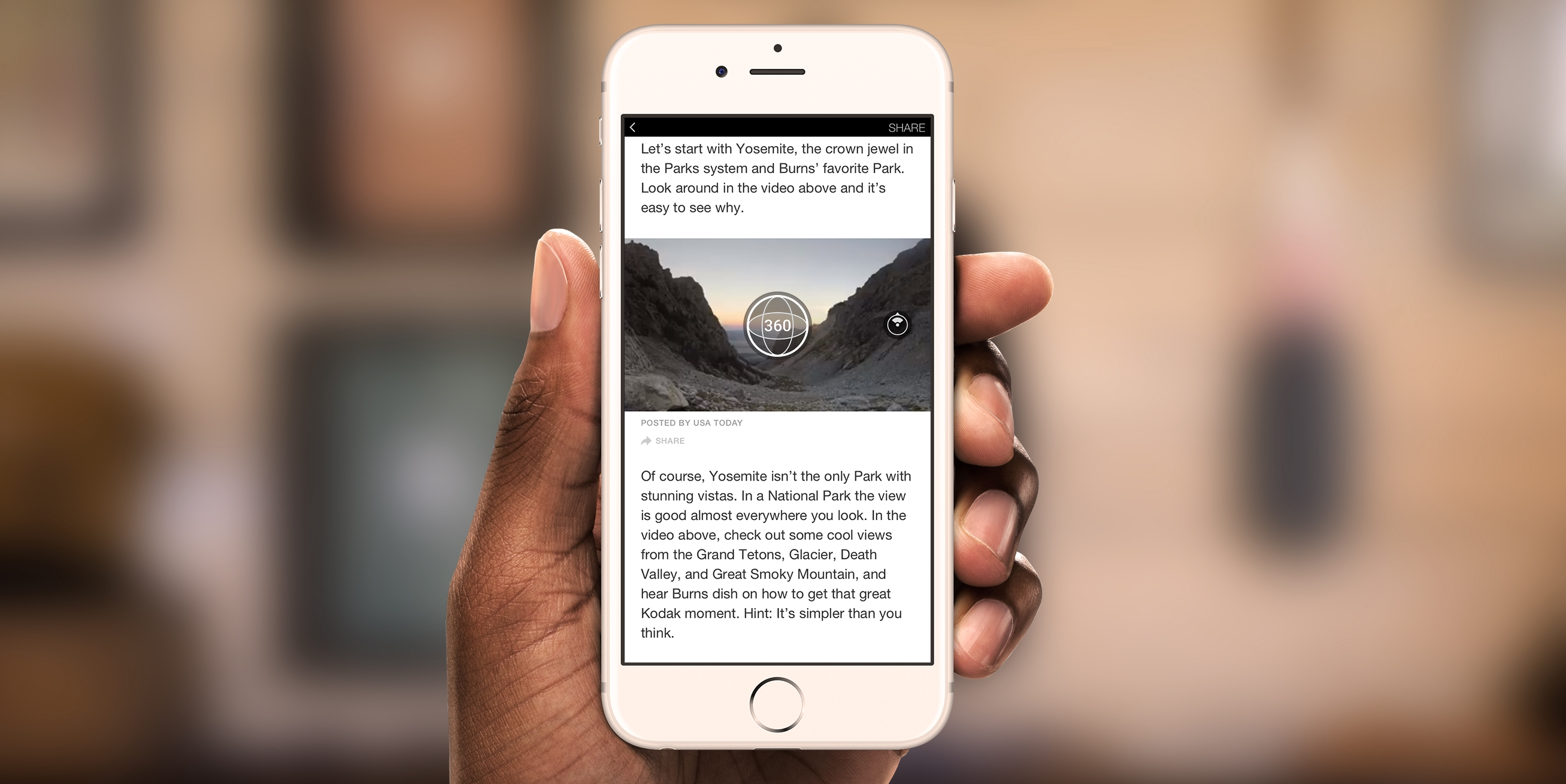 Facebook Brings 360° Content to Instant Articles