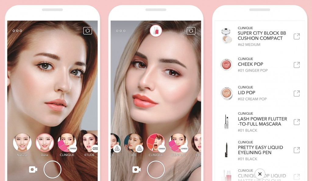 Line Launches Looks App for Trying and Buying Make-up