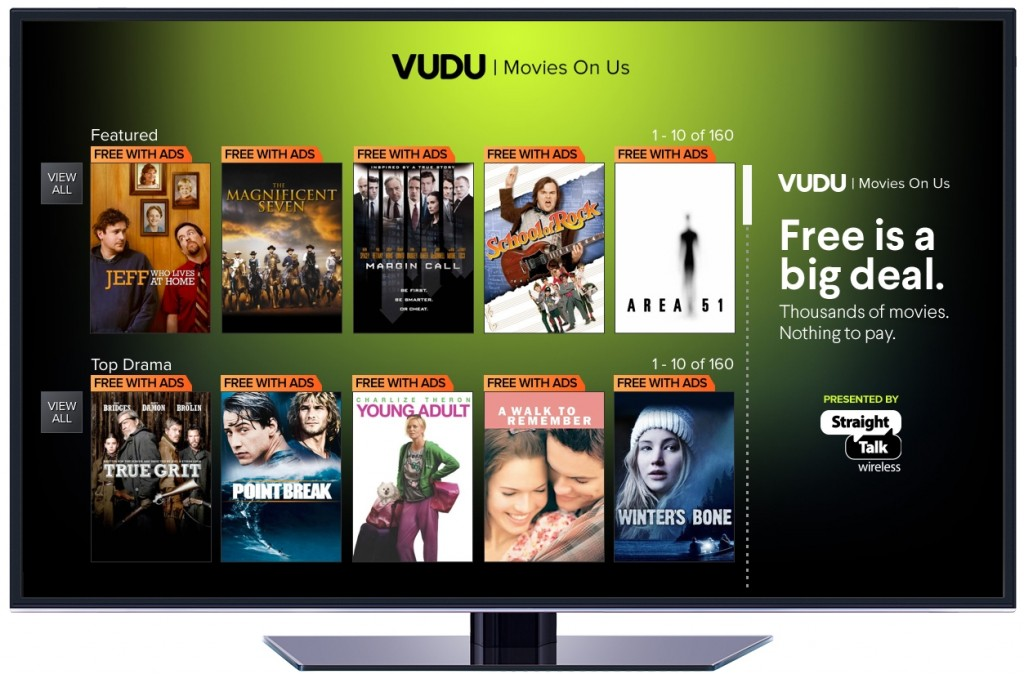 Walmart's Vudu Introduces Ad-supported Video Streaming