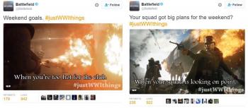 Battlefield Tweets